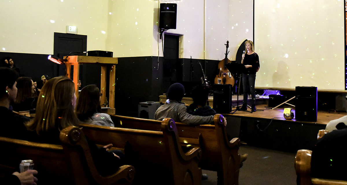A Church hosts first official gathering