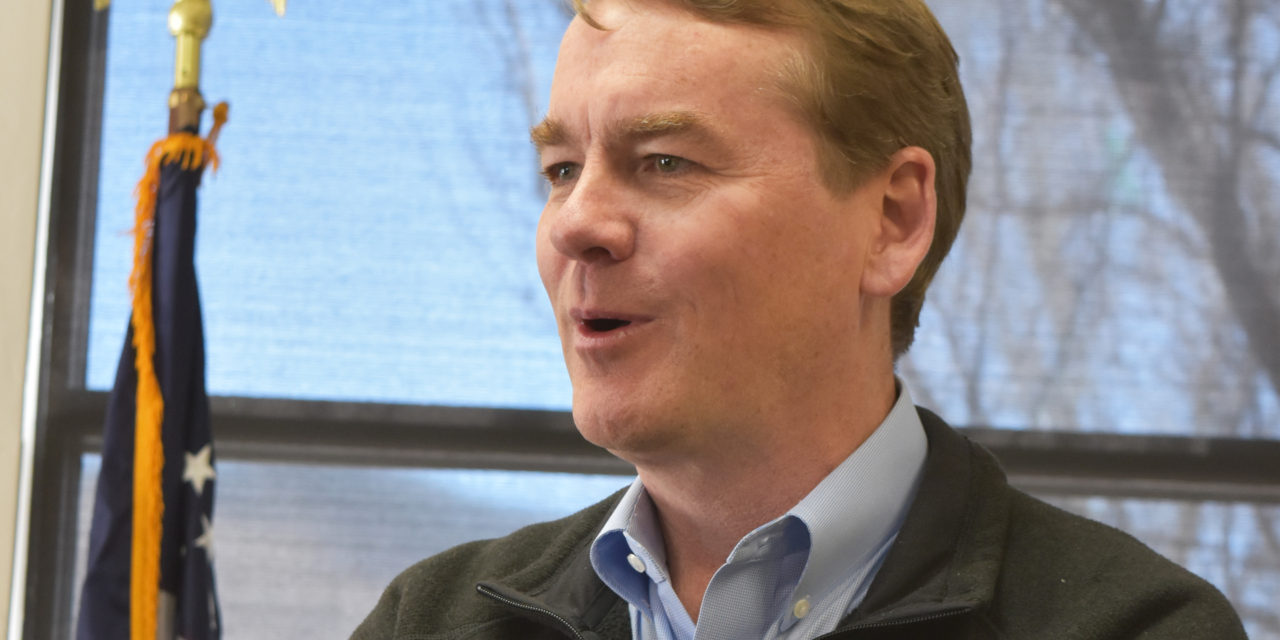 Sen. Michael Bennet invites Colorado veterans to share stories of service