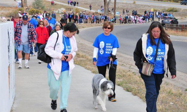 Inaugural Cancer Walk declared a success