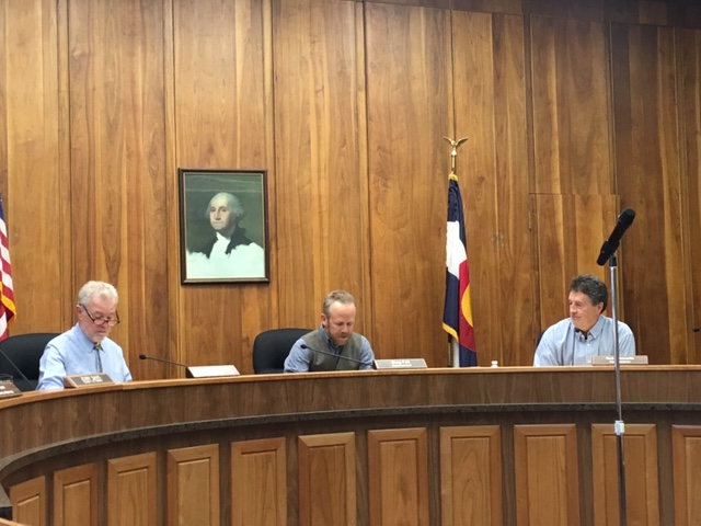 Granzella sworn in as county commissioner, Felt elected county chair