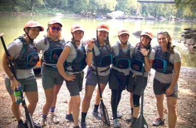 Buena Vista-based USA Women's Raft Team Competes for Family