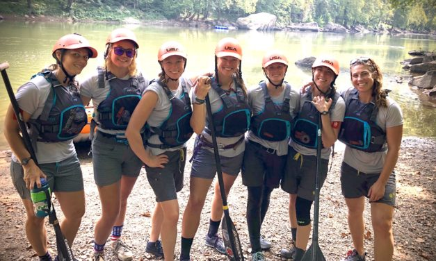 Buena Vista-based USA Women's Raft Team Competes for Family, the Ark Valley, Woman-kind, and  for themselves