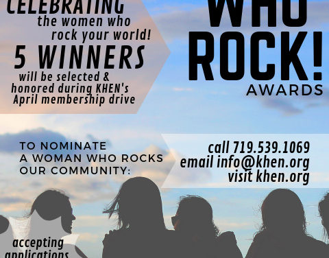"""""""'Women Who Rock"""" nominations are underway"""