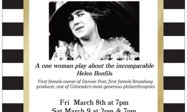 International Women's Day the occasion for theater production of The Bonfils Girl