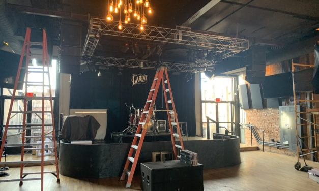 Wofford and the Hi*Beams headline launch of the new Lariat sound system