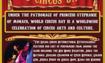 Salida Circus celebrates April 20 World Circus Day