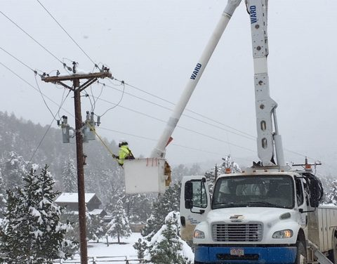 Power Outage a Matter of Careless Cement Truck, Power Poles and Fireballs