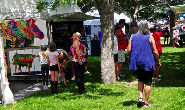 Salida Arts Festival Drew Hundreds of People to Centennial Park