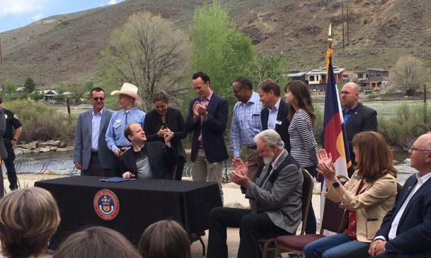 Colorado Gov. Polis signs nine bills into law in Salida