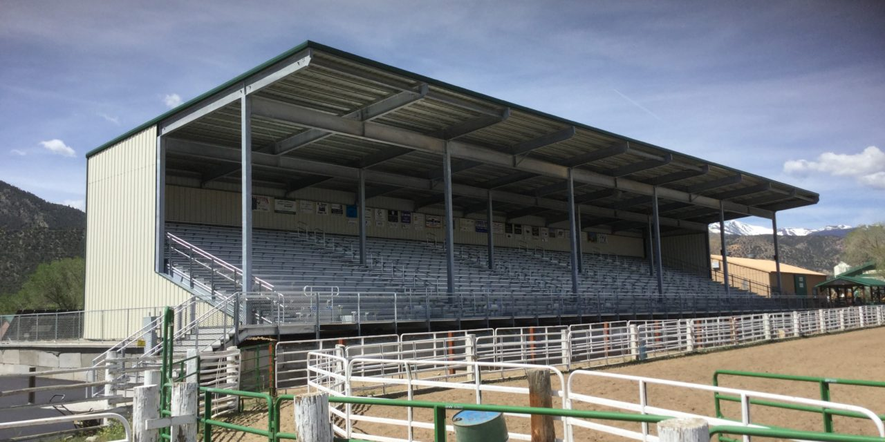 Monster Truck Rally featured for the Chaffee Fairgrounds Grandstand dedication