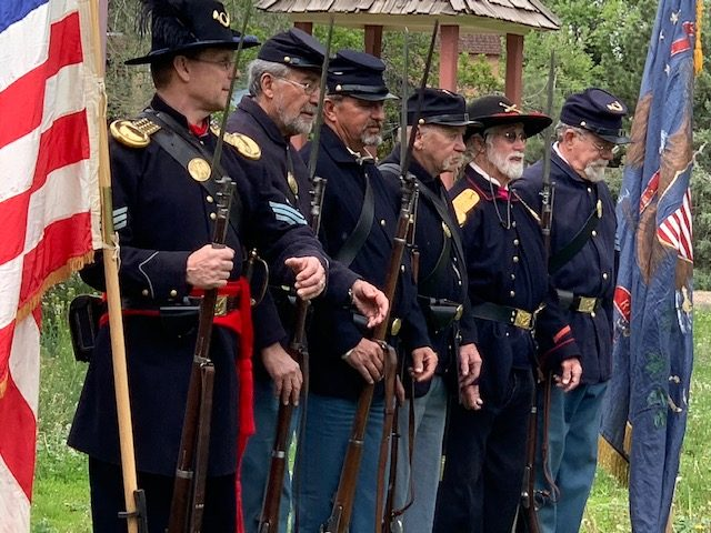 'Living History' is very real for the First Colorado Volunteers