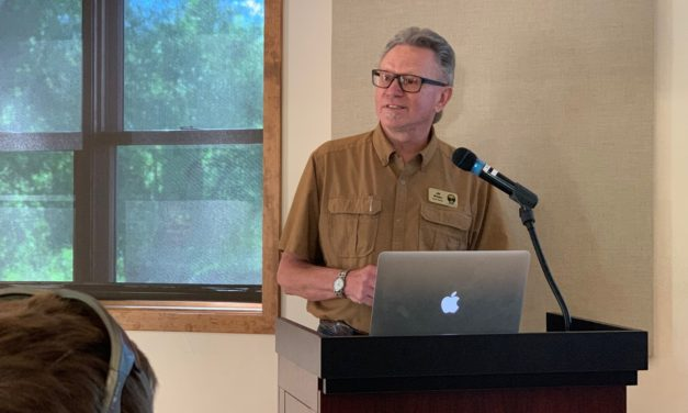 Elders teach and inspire rafting guides at GARNA's Headwaters Institute