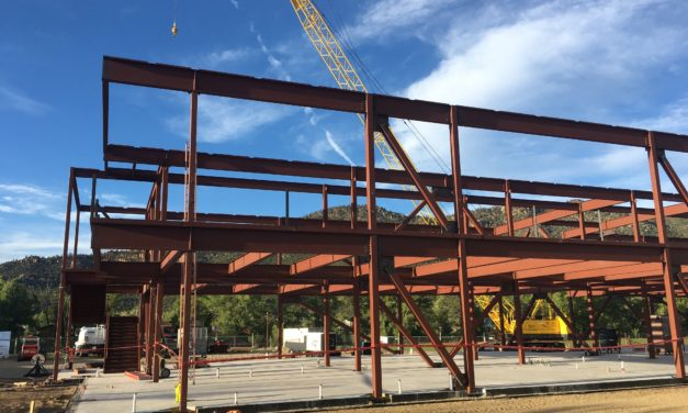 Steel going up at Buena Vista School construction, talks on mascot change