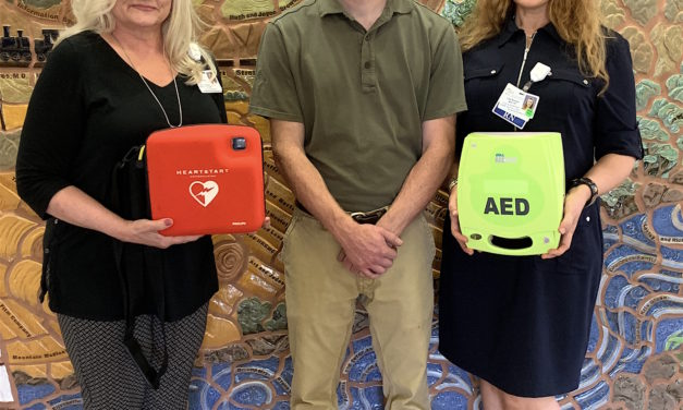HRRMC donates AEDs to Chaffee County Search and Rescue