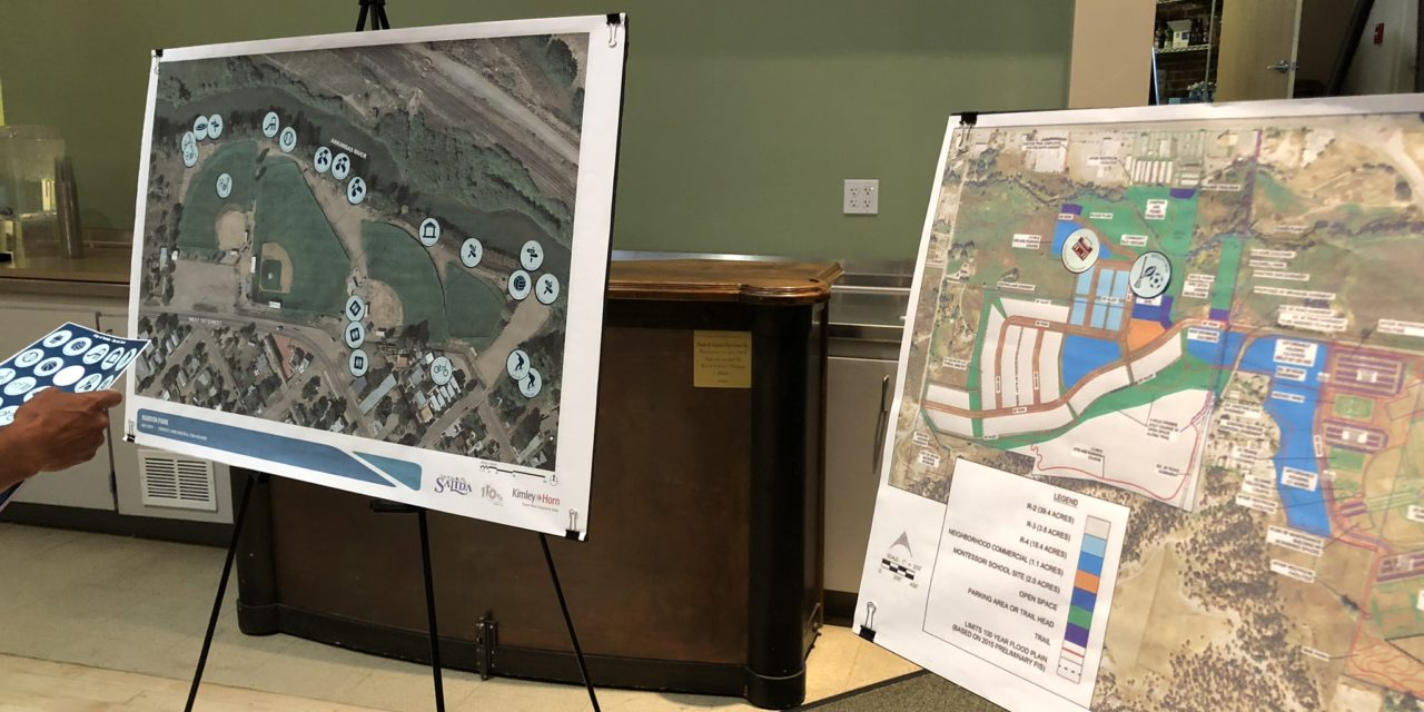 Community gathers for open house for Marvin and Centennial Park planning