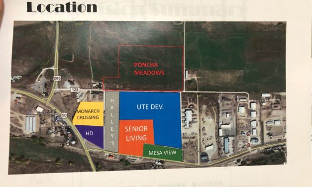 Poncha Springs Board of Trustees , Planning Commission Approve Poncha Meadows Final Plat