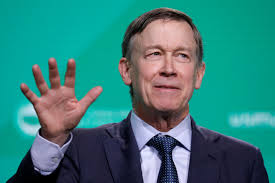 Hickenlooper is out, then he's in the Senate race
