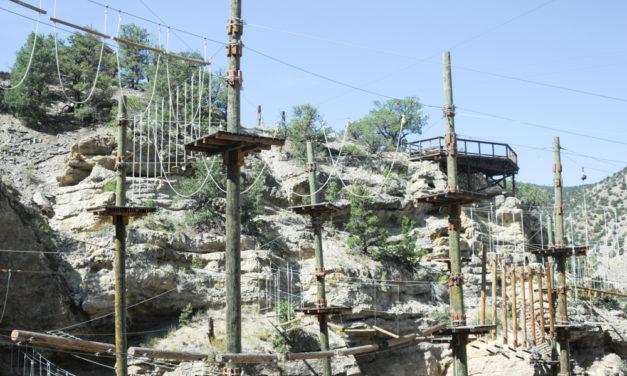 Captain Zipline Aerial Adventure Park offers world-class ropes adventures, fund-raiser for Calliope
