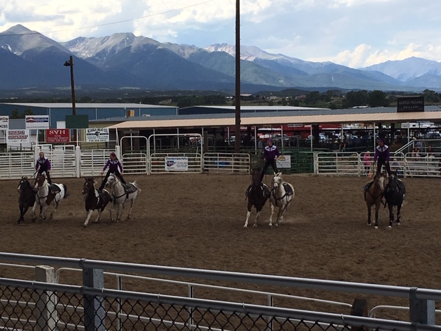 Grand  Day at the Fair, Westernaires perform, John Fuque Grandstand dedicated