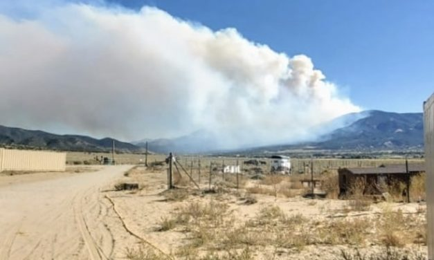 Decker Fire smoke advisory issued, community meeting set for Tuesday, Oct. 1