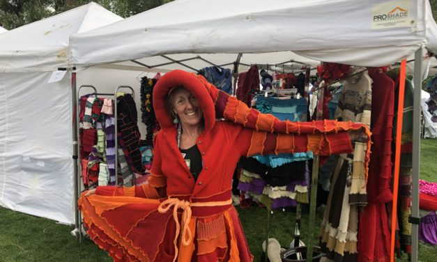 8th Annual Salida Fiber Festival includes a diverse group of artists