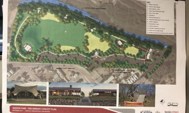 Salida community gathers for a second Master Plan Open House for Marvin and Centennial Parks