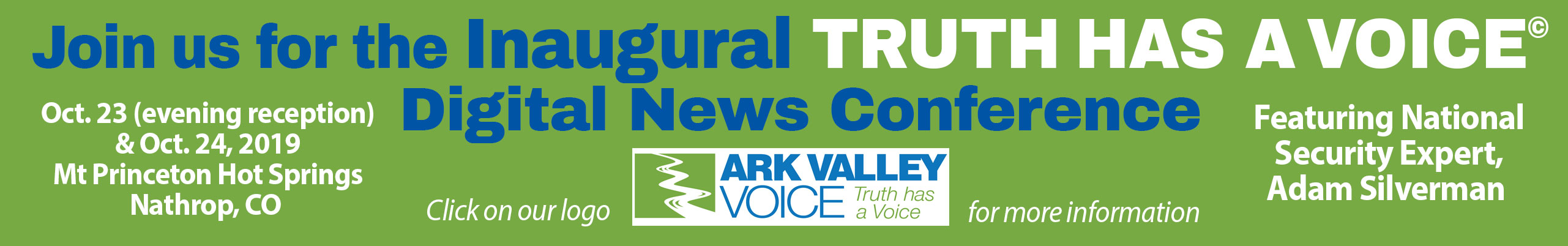 Ark Valley Voice Digital Conference