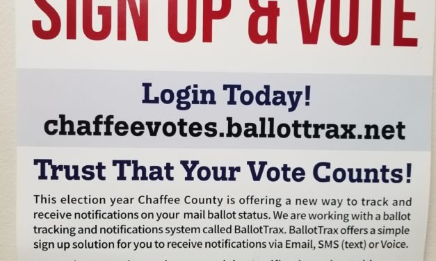 Chaffee Coordinated Election Results Certified, Active Voter Roles Highest Ever