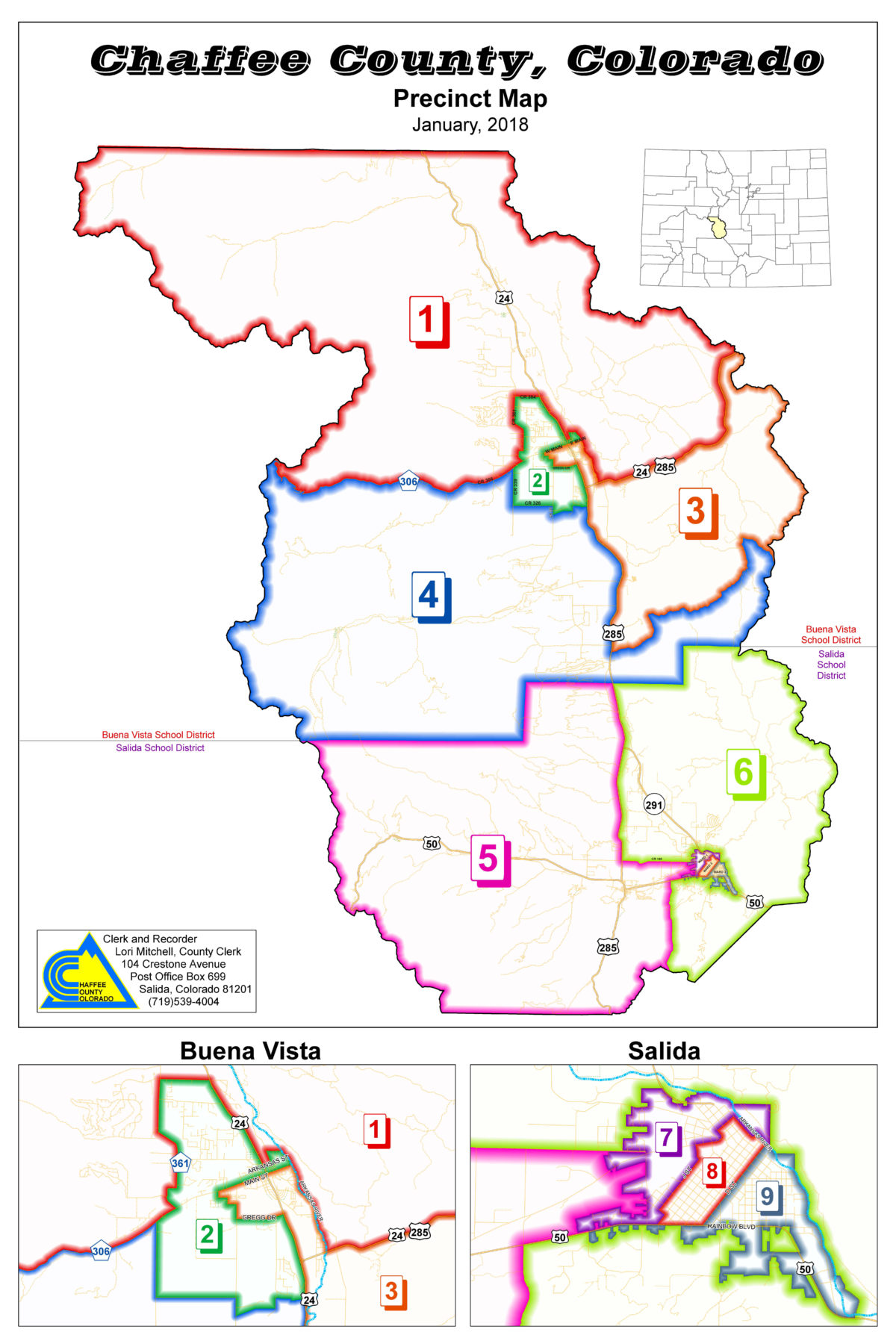 Chaffee County Ballot return at 21 percent - by Jan Wondra ... on pueblo colorado state map, breckenridge colorado state map, boulder colorado state map, salida colorado lodging,