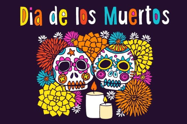 Dia De Los Muertos celebration and remembrance