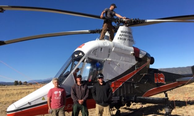 Helicopters the 'workhorses' of the Decker Fire Flight Command effort