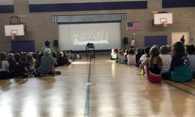 Longfellow Elementary celebrates Colorado Succeeds Prize