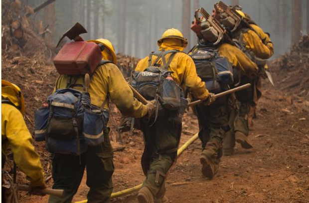 Crews from across the nation assemble to fight Decker Fire