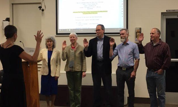Salida City Leadership Celebrated, Sworn in and Bid Farewell
