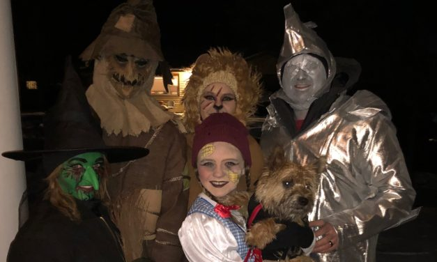 Salida trick or treaters brace the Colorado Rocky Mountain cold