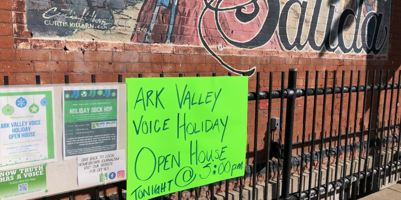 Ark Valley Voice's Open House is Tonight!
