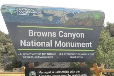 Resource Management Plan for Browns Canyon National Monument Released