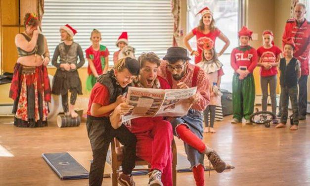 Salida Circus brings Holiday Fun to Columbine Manor