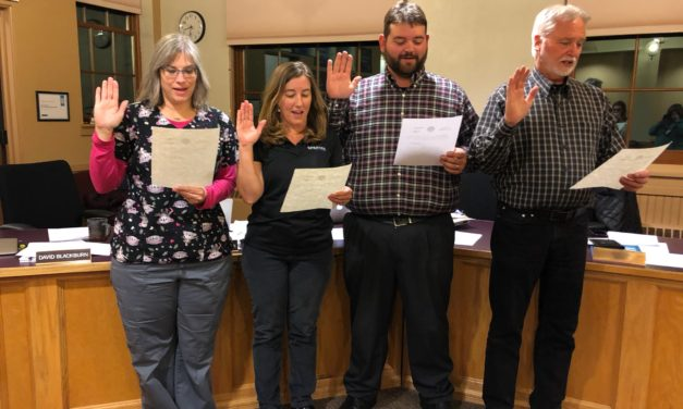 Salida School Board Inducts New and Returning Members