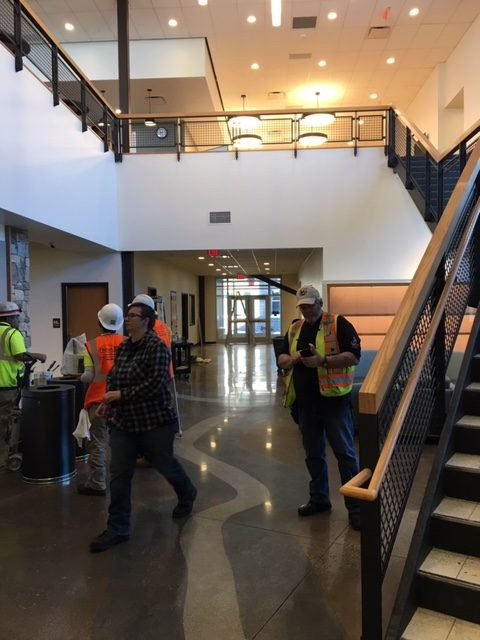 Buena Vista School Phase I Construction Readied for Move-in Day, Public Open House set for Jan. 11