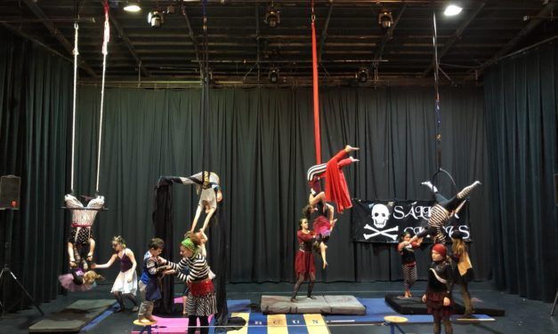 Salida Circus New Year's Camp Concludes with Performance