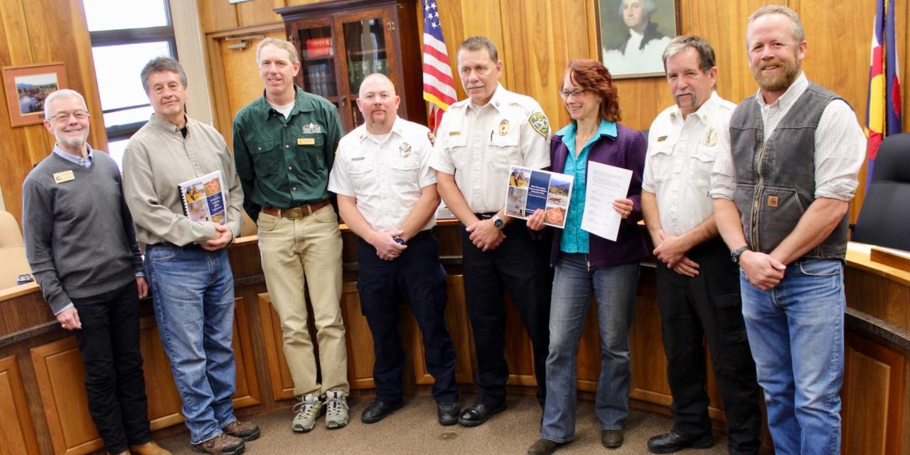 'Envision a Fire-ready Future' Commences, Chaffee Commissioners Approve New Wildfire Protection Plan