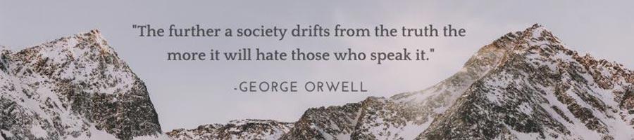 House ad - George Orwell