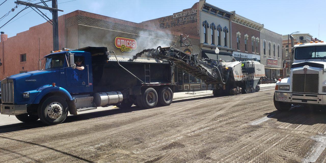 Fewer Cars Means New Roads: Salida Public Works Department Begins Road Repairs