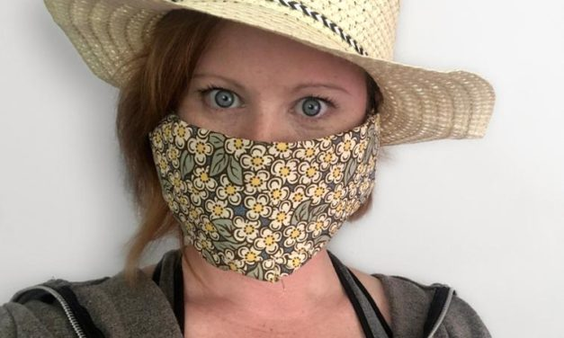 Governor Leads Colorado Mask Campaign, Donors and Sewing Groups Swing into Action