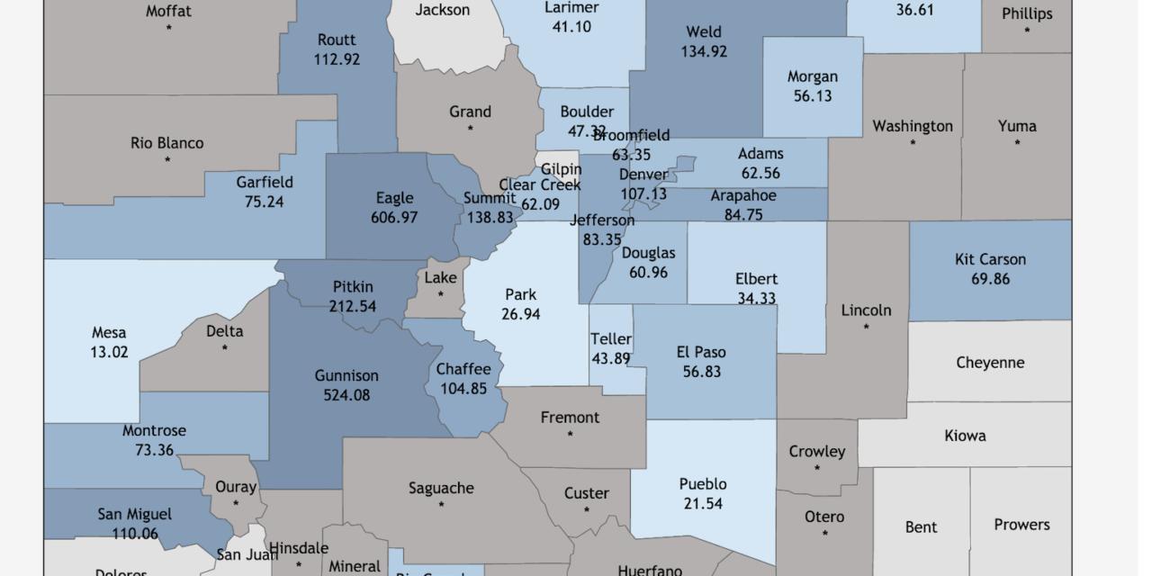 Colorado and Chaffee County Coronavirus Cases Continue to Climb