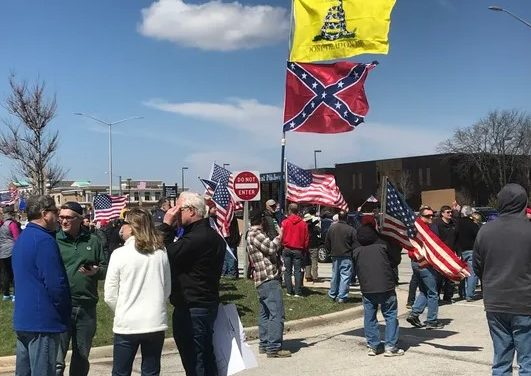 Protests continue while Colorado Counties up the Ante