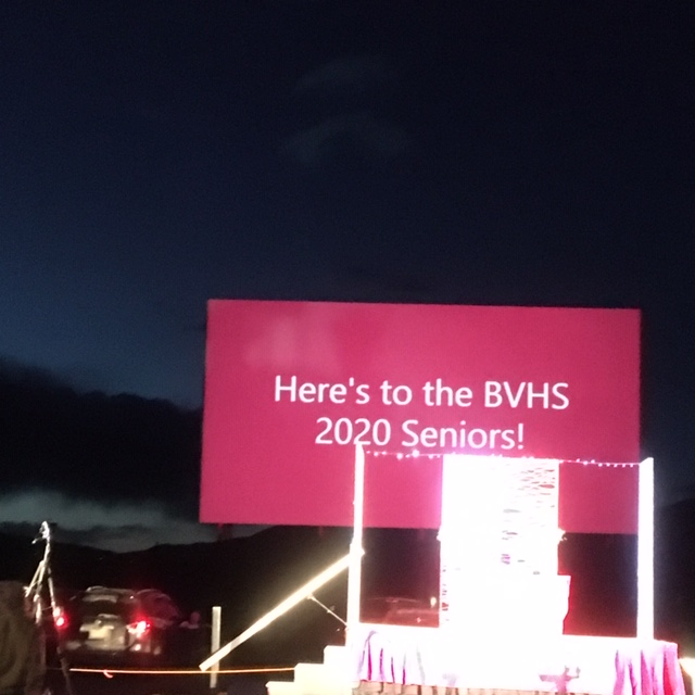 Buena Vista High School Pulls off a Drive-in 'Miracle' for the BVHS Class of 2020