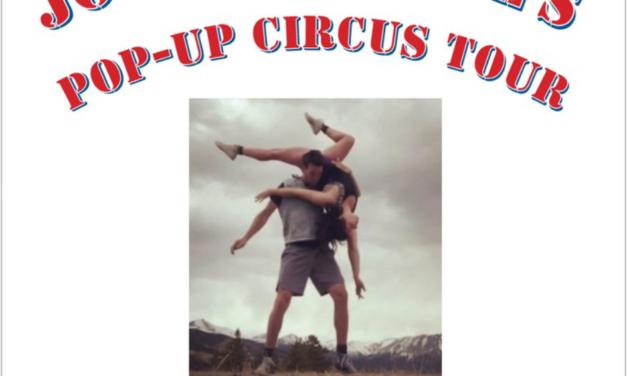 Salida Circus to Host Joe and Lexee's Pop-Up Circus Tour on May 24