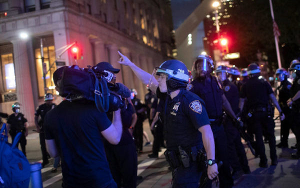 Protest Reality; Police are Targeting News Media and First Responders